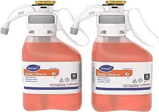 Diversey Stride Citrus Neutral Cleaner (Citrus Scent, 1.4-Liter SmartDose, Case of 2)