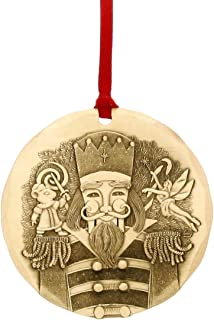 Wendell August Handmade 2018 Annual Christmas Ornament, Bronze Nutcracker Ornament, Inspired by The Original Holiday Ballet, Makes a Great