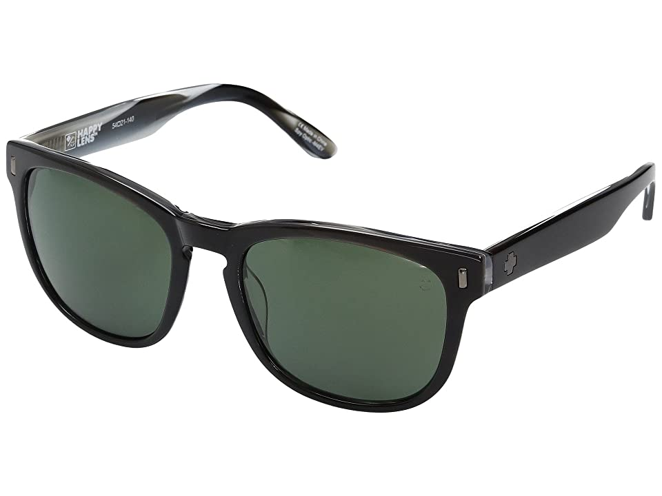 Spy Optic Beachwood (Black/Horn/Happy Gray Green) Sport Sunglasses