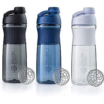 SCS Direct BlenderBottle SportMixer Shaker Bottle 28 oz, 3-Pack, Colors May Vary