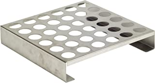 Charcoal Companion CC3100 9-Inch Stainless Steel Pepper Roasting Rack with 36 Holes