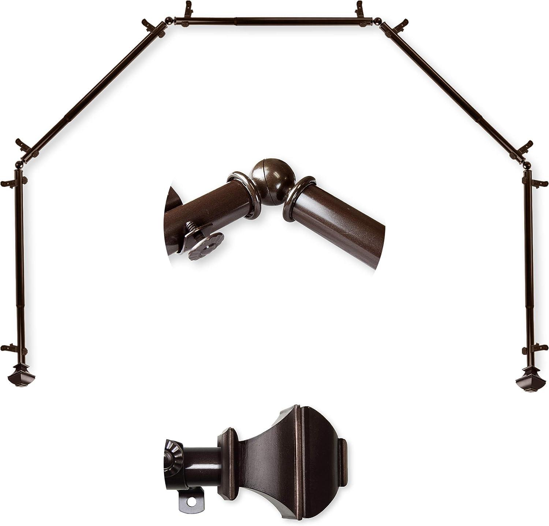 AF Rod Décor - Phife 13 28-4 Curtain Genuine 5-Sided Bay 16