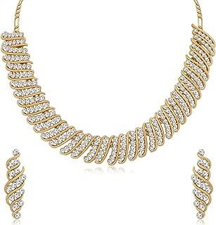 Sukkhi Jewellery Jewellery Set for Women (White) (N79553_D1)