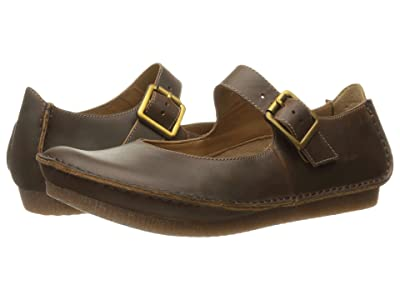Clarks Janey June (Beeswax Leather) Women