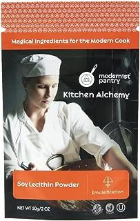 Pure Soy Lecithin Powder (Molecular Gastronomy) ☮ Vegan ✡ OU Kosher Certified - 50g/2oz