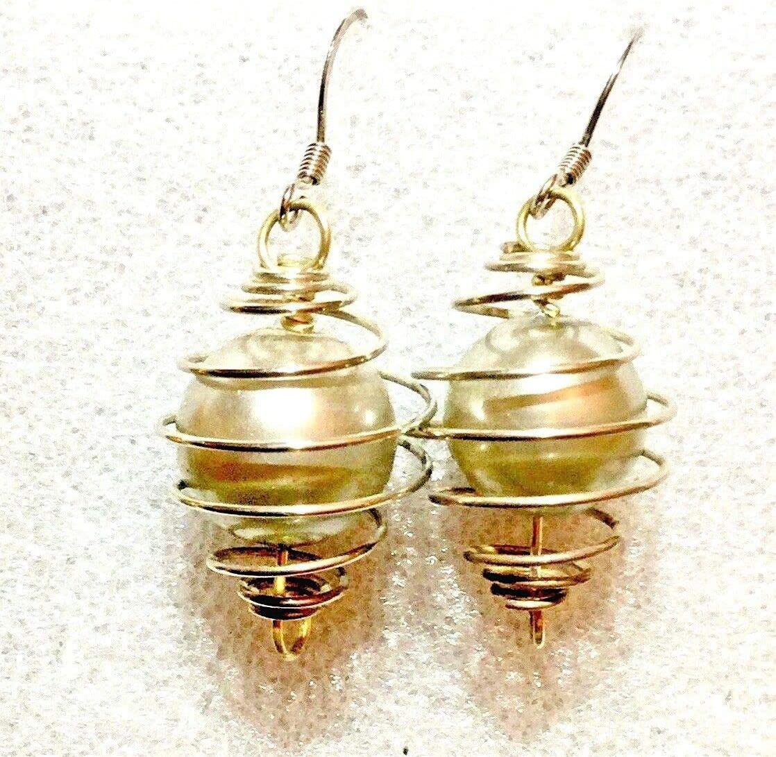 Caged Ball Earrings Very Different MF-337