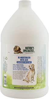 Nature's Specialties Re-moisturizer with Aloe Conditioner for Dogs Cats, Non-Toxic Biodegradeable, 1gal