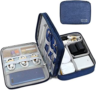 Seagull Flight Of Fashion 3 Layer Gadget Organizer Case, Electronic Accessories Organizer Bag for Cables, Charger, Hard Di...