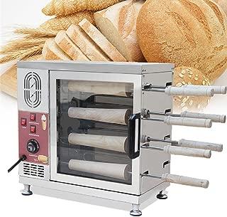 Tinsay Electric Ice Cream Cone Kurtos Kalacs Chimney Cake Roll maker oven Machine