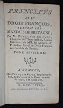 Principes du droit françois, suivant les maximes de Bretagne (tome 7)