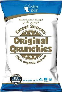 Vita Plus Organic Quinoa Original Qrunchies - 100 gm