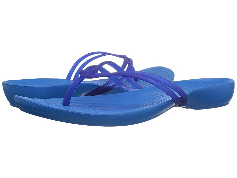 Crocs Isabella Flip (Cerulean Blue/Ocean) Women