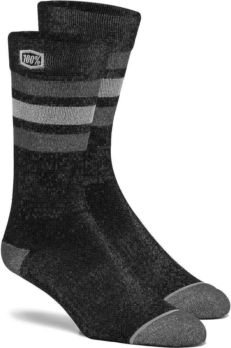 100% Men's Stripes Socks