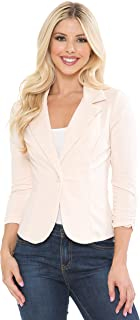 YourStyle Casual Work Solid Candy Color Blazer-S-3XL-MADE in USA