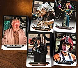 2018 Topps Star Wars Galactic Files (Update of '17 Set) Complete Hand Collated Set of 200 Cards featuring cards of characters from all Star Wars movies (except Solo Story) Princess Leia Rey Luke Skywalker and many more