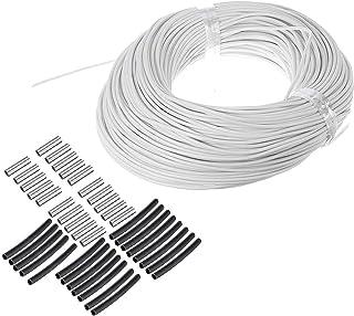 DZF697 1pc Chauffage câble Chauffe-câble Fil Serre de Serre légumes équipement de Chauffage agricole chaudière au Sol Chau...