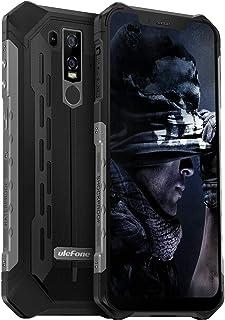 Ulefone Armor 6E スマートフォン フリー sim アウトドアIP68 / IP69K 防水 防塵 耐衝撃Android 9.0 6.2インチ スマホ本体 4GB RAM +64GB ROM (128GBまでTFカッドを拡張する)...