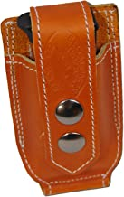 Barsony New Saddle Tan Leather Single Magazine Pouch for .380 Ultra Compact 9mm 40 45