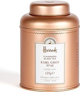 HARRODS of London - Earl Grey No. 42 - 125gr Tin / Dose Lose blatt