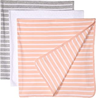 Amazon Essentials Baby 3-Pack Swaddle Blanket, One Size