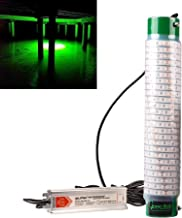 Green Blob Outdoors Portable Underwater Green Dock Fishing Light Powerful 16742 Lumen LED w 30ft Cord & Std 3 Prong Plug Saltwater Ready, Catch Snook Tarpon Crappie Bass Catfish Made in USA
