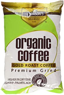 S.A.Wilsons Gold Roast Coffee The Original and still Best for higher levels of caffeine and Palmitic acid
