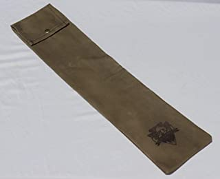 Bushcraft Bucksaw Bag, Canoe Saw Sleeve, Waxed Canvas, 24