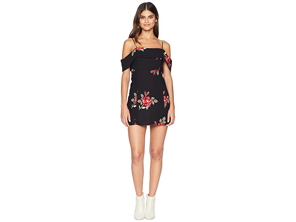 Amuse Society Valentina Dress (Black) Women