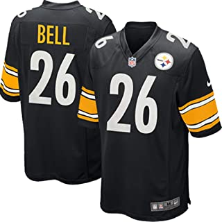 Nike L'Veon Bell Pittsburgh Steelers NFL Youth 8-20 Black Home On-Field Player Jersey