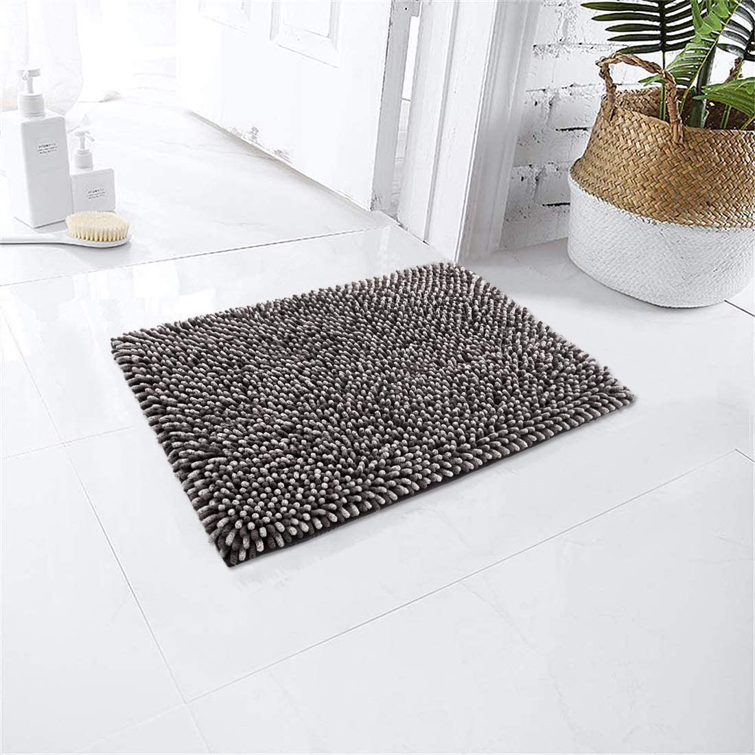 Bathroom Rug Cosy HOMEER17x24 Inch Bath Polyes Made 100% Rugs Selling In stock of