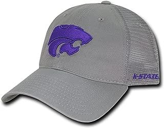 University of Kansas State K-State Wildcats Polo Relaxed Trucker Mesh Baseball Ball Cap Hat