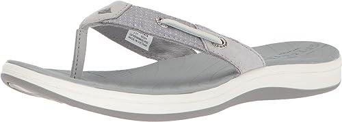 Sperry Woherren Seabrook Surf Two-Tone Flat Sandal, grau, 12 Medium US