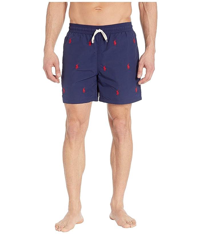 Polo Ralph Lauren Traveler Swim Trunks (Newport Navy/Aoe) Men