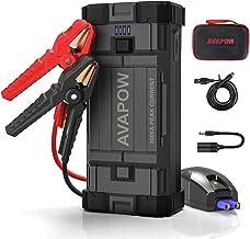 AVAPOW Car Battery Jump Starter Portable,3000A Peak 23800mAh,12V Jump Boxes for..
