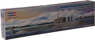 ホビーボス 1/350 潜水艦シリーズ ロシア海軍 ボレイ型原子力潜水艦 プラモデル