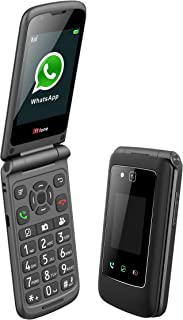 TTfone Titan TT950 Whatsapp 3G Touchscreen Senior Big Button Flip Mobile Phone EE Pay As You Go