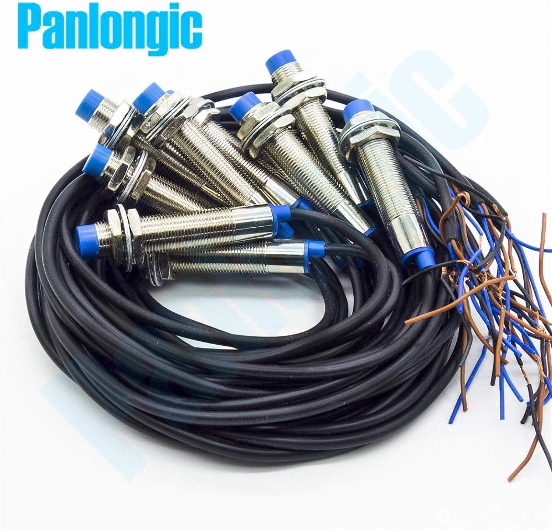 10pcs LJ12A34Z AX NPN NC Normal Close 4mm Detection Proximity Sensor DC 636V Inductive Proximity Sensor Switch High Quality