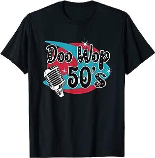 1950s Doo Wop 50s 60s Sock Hop Clothing Rockabilly Tshirt