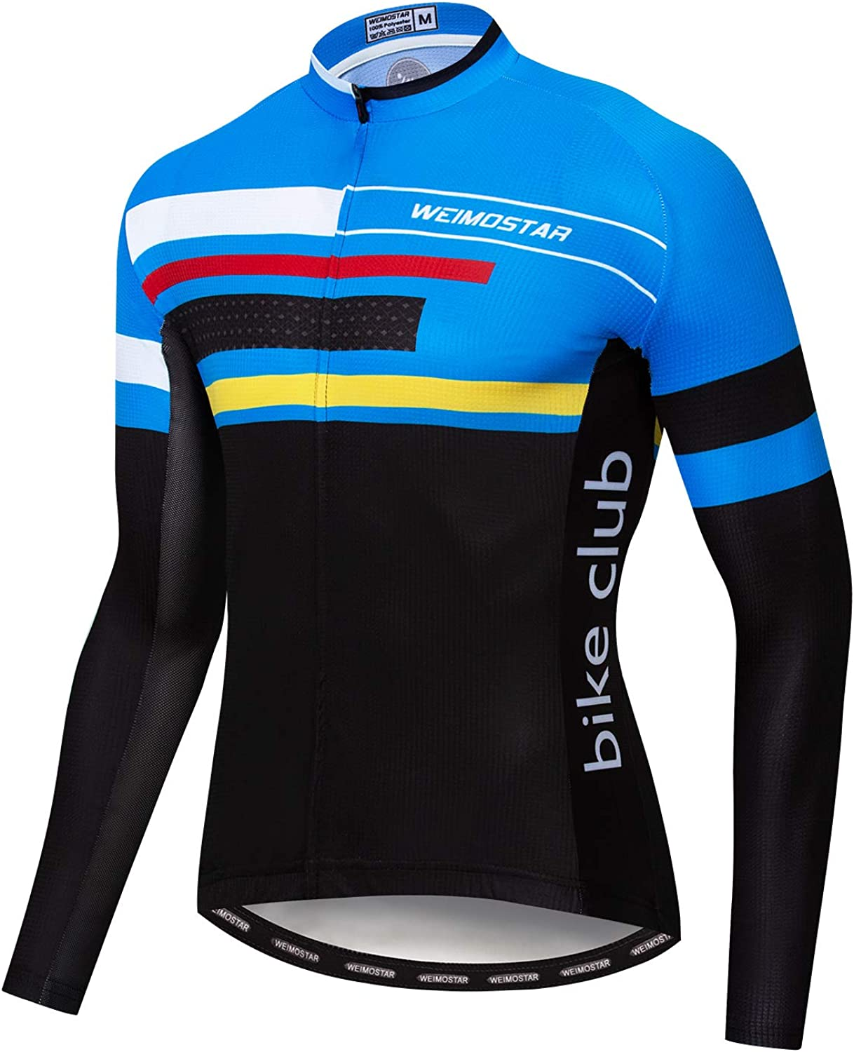 Men's Cycling Jersey Long Cheap mail order specialty store Sleeve Mens Jerse MTB Autumn Team Bike Topics on TV