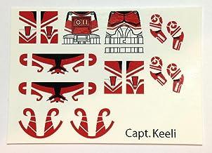 Brick4Brick Capt. Keeli Clone Trooper Custom Water Slide Decal