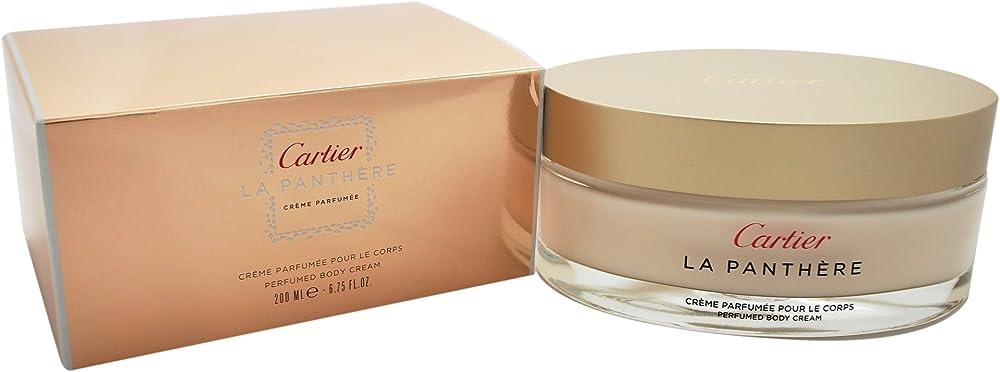 Cartier panthere crema corpo per donna, 200g 3432240515247