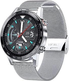 hwbq Smart Horloge Touchscreen Polshorloge met Camera Bluetooth Waterdicht Smart Horloge Sport Fitness Tracker Dagelijkse ...