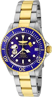 Invicta Women's Character Collection Automatic-self-Wind Watch with Stainless-Steel Strap, Two Tone, 18 (Model: 24794)