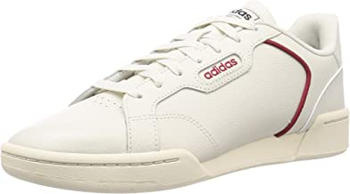 Adidas Fandom Mens Shoes Raw White/Raw White/Active Maroon 40 2/3 EU