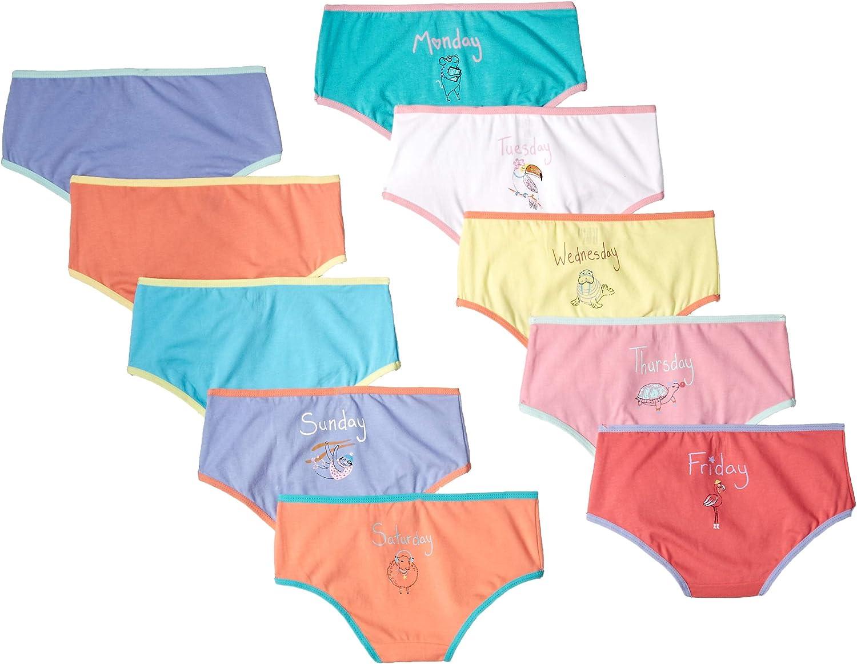 Brand Spotted Zebra Girls Bikini Underwear