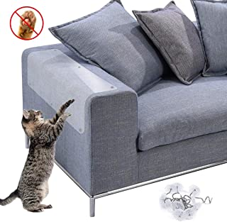 Peluche Sisal Cat Scratching Mat Fish Shape Cat Toy Rettifica Claws Board con Catnip per Cats Kitten Kitty Playing Sleeping HEEPDD Cat Scratch Pad Nero + Bianco