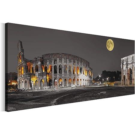 Basilica di San Pietro la Sera Stampa su Tela 60x40 cm Artistica murale