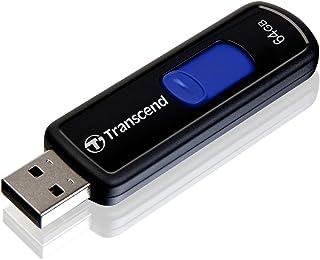 Transcend 64GB JetFlash 500 USB 2.0 Flash Drive (TS64GJF500)