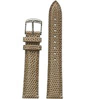 Michele - 18mm Cashmere Lizard Watch Strap