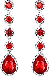Best long rod earrings Reviews